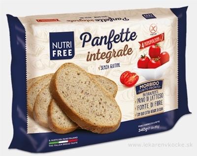 NutriFree Panfette integrale chlieb celozrnný, krájaný (4 porcie) 1x340 g