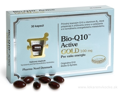 Bio-Q10 Active GOLD cps 1x30 ks