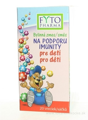 FYTO Bylinná zmes NA PODPORU IMUNITY pre deti 20x1,5 g (30 g)