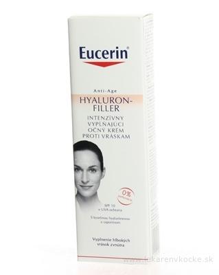 Eucerin HYALURON-FILLER očný krém proti vráskam intenzívny vyplňujúci krém 1x15 ml
