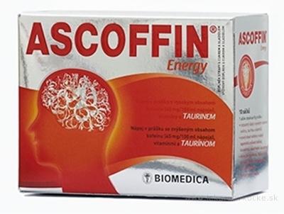 BIOMEDICA ASCOFFIN Energy vrecúška 10x8 g