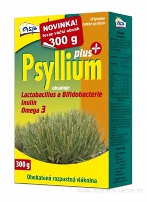 asp Psyllium PLUS rozpustná vláknina, s laktobacilmi a bifidobaktériami, 1x300 g