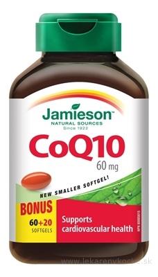 JAMIESON KOENZÝM Q10 60 mg cps 60+20 zadarmo (80 ks)