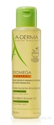 A-DERMA EXOMEGA CONTROL HUILE LAVANTE ÉMOLLIENTE zvláčňujúci sprchovací olej 1x500 ml