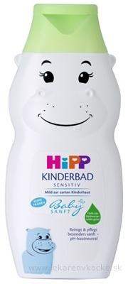 HiPP BabySANFT Detský kúpeľ sensitiv, hroch 1x300 ml