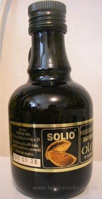 SOLIO mandľový olej za studena lisovaný olej 1x250 ml