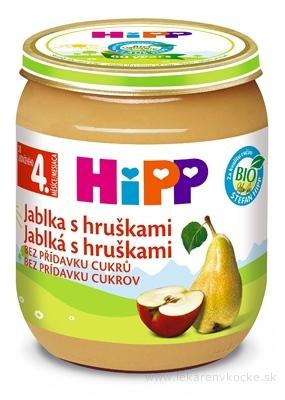 HiPP Príkrm ovocný Jablká s hruškami (od ukonč. 4. mesiaca) 1x125 g