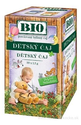 HERBEX BIO DETSKÝ ČAJ Dr.Nebolíto bylinný čaj 20x1,2 g (24 g)