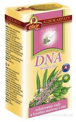 AGROKARPATY DNA bylinný čaj, čistý prírodný produkt, 20x2 g (40 g)