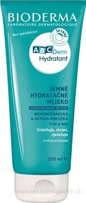 Bioderma ABCDerm Hydratant telové mlieko 200 ml
