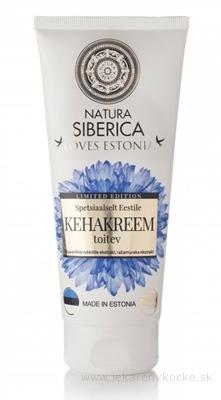 NATURA SIBERICA LOVES ESTONIA Body cream telový krém, výživný, nevädza a moruša, 1x200 ml