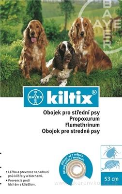 KILTIX obojok pre stredné psy obvod 53 cm, 1x1 ks