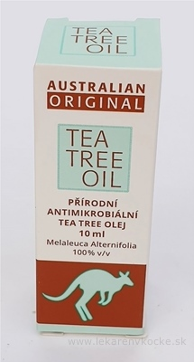 AUSTRALIAN ORIGINAL TEA TREE OIL 100% 1x10 ml