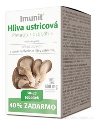 Imunit HLIVA ustricová cps 50+20 zadarmo (70 ks)