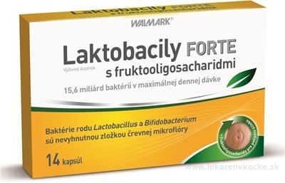 WALMARK Laktobacily Forte cps (s fruktooligosacharidmi) 1x14 ks