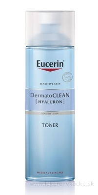 Eucerin DermatoCLEAN HYALURON TONER Čistiaca VODA citlivá pleť 1x200 ml