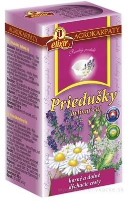 AGROKARPATY PRIEDUŠKY bylinný čaj, prírodný produkt, 20x2 g (40 g)