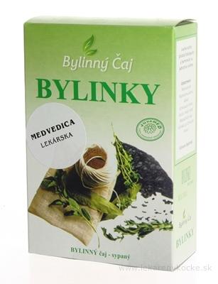 JUVAMED MEDVEDICA LEKÁRSKA - LIST bylinný čaj sypaný 1x30 g