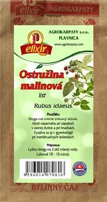 AGROKARPATY OSTRUŽINA MALINOVÁ list bylinný čaj 1x30 g