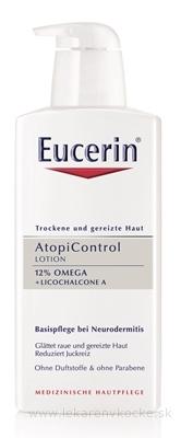 Eucerin AtopiControl Telové mlieko pre suchú pleť 1x400 ml