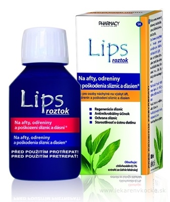 LIPS roztok na afty 1x100 ml