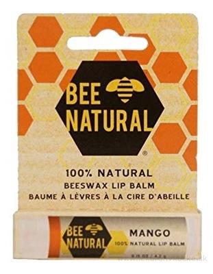 BEE NATURAL balzam na pery Mango 1x4,2 g