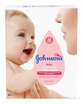 Johnson Johnson & BABY PRSNÉ VLOŽKY PRE DOJČIACE MATKY 50KS