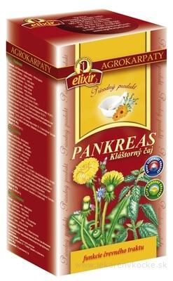 AGROKARPATY PANKREAS Kláštorný čaj prírodný produkt 20x2 g (40 g)