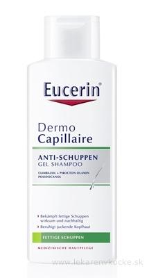 Eucerin DermoCapillaire proti mastným lupinám šampón 1x250 ml