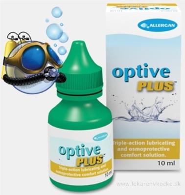 Optive Plus očný roztok 1x10 ml