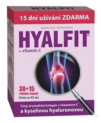 HYALFIT + vitamín C cps 30+15 zadarmo (45 ks)