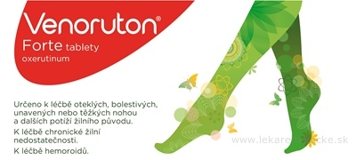 Venoruton Forte tbl 500 mg 1x60 ks