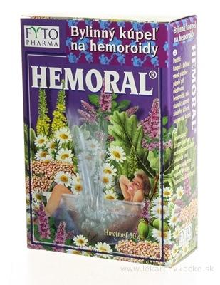 FYTO HEMORAL Bylinný kúpeľ 1x50 g