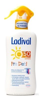 Ladival PRE DETI SPF 50 sprej na ochranu proti slnku 1x200 ml