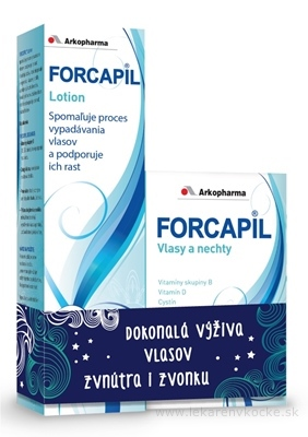 Forcapil 180 kapslí + Forcapil lotion 150 ml darčeková sada