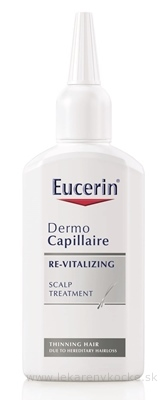 Eucerin DermoCapillaire tonikum proti vypadávaniu vlasov (re-vitalizing) 1x100 ml