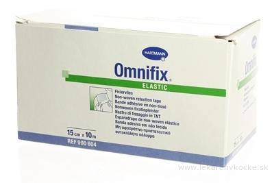 OMNIFIX ELASTIC hypoalergénna náplasť fixačná z netkaného textilu (15cmx10m) 1x1 ks