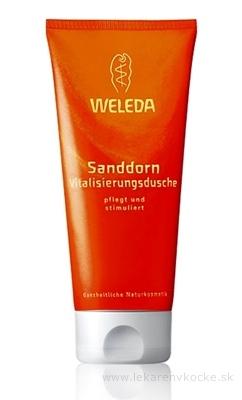 WELEDA Sprchovacia emulzia Rakytník (Sanddorn Vitalisierungsdusche) 1x200 ml