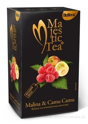 Biogena Majestic Tea Malina & Camu Camu bylinný čaj 20x2,5 g (50 g)