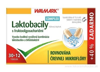 WALMARK Laktobacily Complex cps 30+12 ks zadarmo (42 ks)