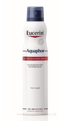 Eucerin Aquaphor Telová MASŤ v spreji suchá pokožka 1x250 ml
