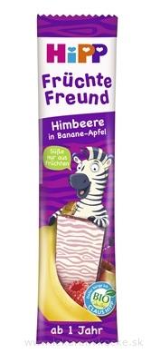HiPP BIO Oblátka Banán - Jablko - Maliny Früchte Freund (od 1 roku), 1x23 g