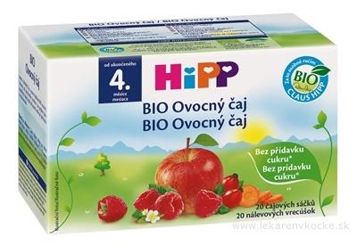 HiPP BIO Ovocný čaj (od ukonč. 4. mesiaca) nálevové vrecúška 20x2 g (40 g)