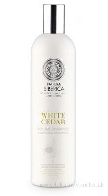 NATURA SIBERICA WHITE CEDAR Shampoo šampón pre objem Biely céder 1x400 ml