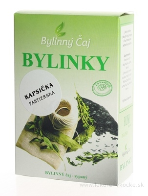 JUVAMED KAPSIČKA PASTIERSKA - VŇAŤ bylinný čaj sypaný 1x40 g