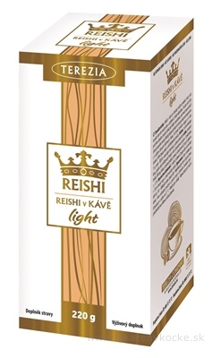 TEREZIA REISHI V KÁVE light vrecúška 20x11 g (220 g)