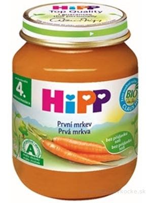 HiPP Príkrm Prvá mrkva zeleninový (od ukonč. 4. mesiaca) 1x125 g