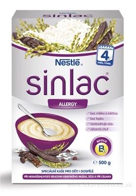 Nestlé Nemliečna kaša SINLAC allergy (od ukonč. 4. mesiaca) 1x500 g