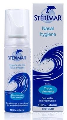 STERIMAR nosová hygiena nosový mikrosprej s obsahom morskej vody (fyziologický) 1x100 ml