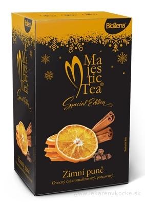 Biogena Majestic Tea Zimný punč ovocný čaj 20x2 g (40 g)